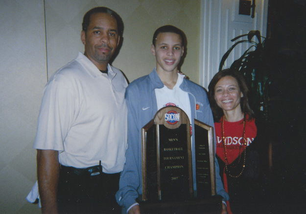 Stephen Curry in High School